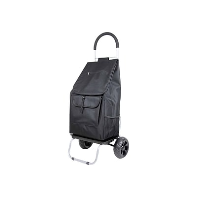 Dbest Trolley Dolly Poly Cart & Bag, Black (01-517)