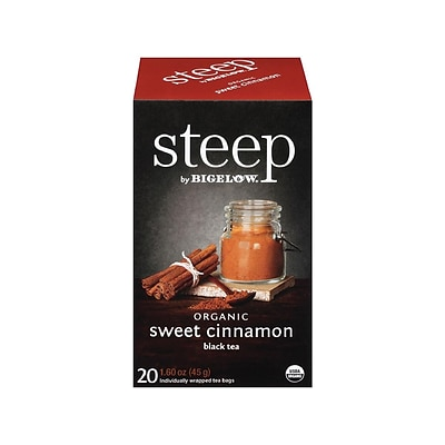 Steep Cinnamon Tea Bags, 20/Box (17712)