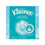 Kleenex Cool Touch Cooling Facial Tissue, 3-Ply, 50 Sheets/Box (29388)