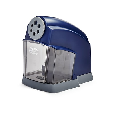 X-ACTO School Pro Electric Pencil Sharpener, Blue (1670)