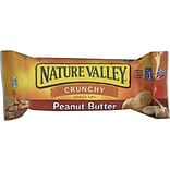 Nature Valley Crunchy Granola Bars, Peanut Butter, 1.5 Oz., 18/Box (33550)
