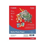 Canon MP 101 Matte Photo Paper, 8.5 x 11, 50/Pack (7981A004)
