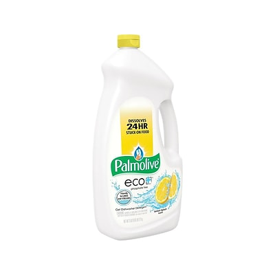 Palmolive Eco+ Splash Dishwasher Detergent Liquid, Lemon Scent (142706)