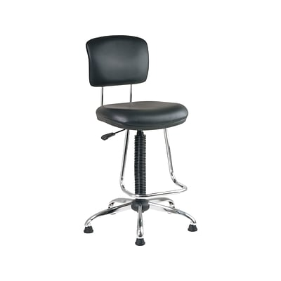 Miraculous Work Smart Dc Series Vinyl Computer And Desk Chair Black Dc420V 3 Ocoug Best Dining Table And Chair Ideas Images Ocougorg