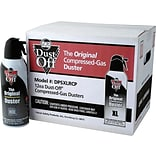 Falcon Dust-Off Disposable Air Dusters, 12/Pack (DPSXLRCP)