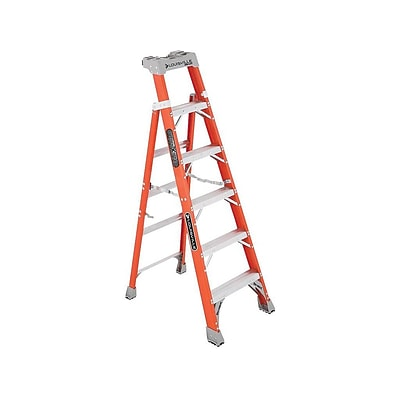 Louisville Ladder 6H Fiberglass Step Ladder (FS1506)