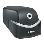 X-ACTO Quiet Electric Pencil Sharpener, Black/Silver (1750)
