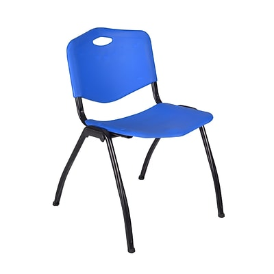 Regency M Stack Chair- Blue (4700BE)