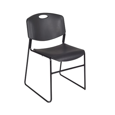 Regency Zeng Stack Chair (50 pack)- Black