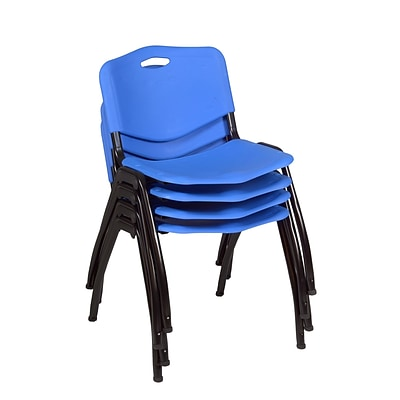 Regency M Stack Chair (4 pack)- Blue (4700BE4PK)