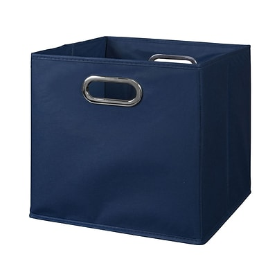 Niche Cubo Foldable Fabric Storage Bin, 12 x 12 x 12, Blue (HTOTEBE)