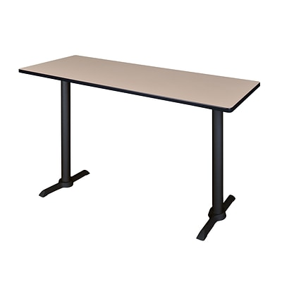 Regency Cain 60 x 24 Cafe Training Table- Beige