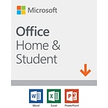 Microsoft Office Home and Student 2019 1 device, Windows 10 PC/Mac Download