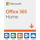 Microsoft Office 365 Home 12-Month Subscription for PC/Mac, 6 Users, Download (3SA7RGARJ6L63CC)