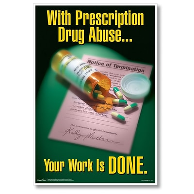 ComplyRight Prescription Drug Abuse Poster (W0212)