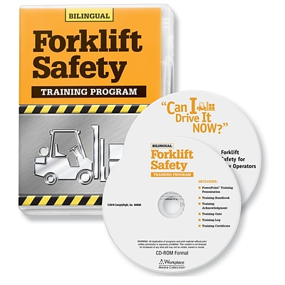 ComplyRight Forklift Safety Training Program, Bilingual (W0806)