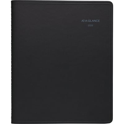 2020 AT-A-GLANCE® 8 x 9 7/8 QuickNotes® Weekly/Monthly Appointment Book, January Start, 12 Months, Notes Space (76-01-05-20)