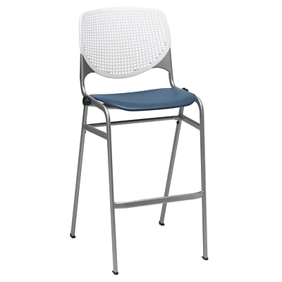 KFI, Kool Collection, 30 Seat, White & navy, BR2300-BP08SP03