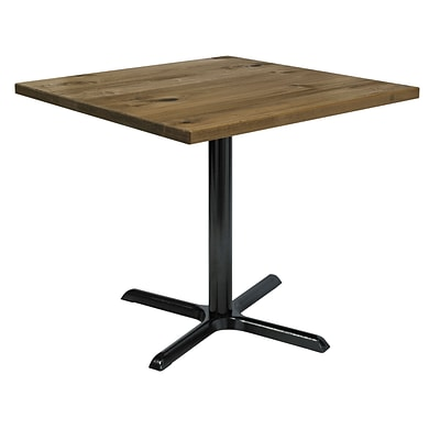 KFI, 42 Square, Wood, Cafe, Natural, (42S-2025LFTNA)