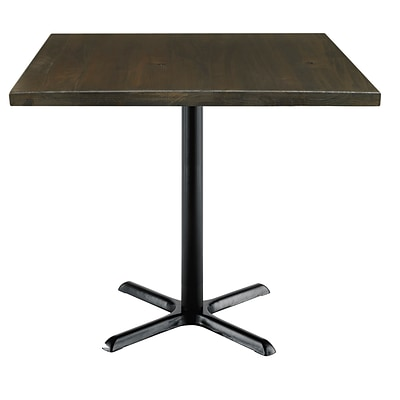 KFI, 42 Square, Wood, Counter Height, Espresso, (42S-202531LFTES)