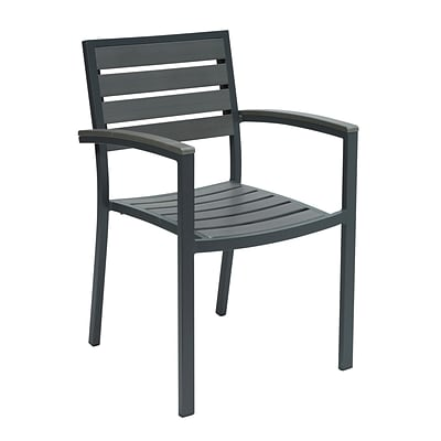 KFI, 5601-GY, Eveleen Collection, Outdoor Seating, Arms, Grey