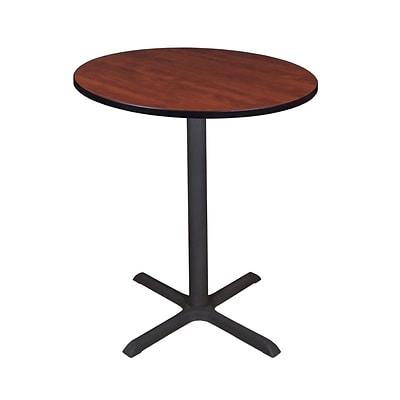 Regency Cain 36 Round Cafe Table- Cherry