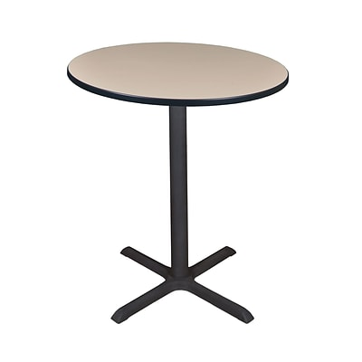 Regency Cain 36 Round Cafe Table- Beige