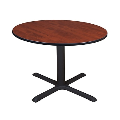 Regency Cain 48 Round Breakroom Table- Cherry