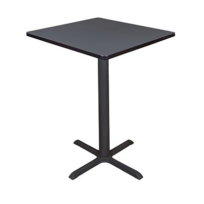 Regency Cain 30 Square Cafe Table- Grey