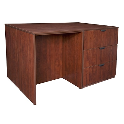 Regency Legacy Stand Up 2 Lateral File/ Storage Cabinet/ Desk Quad- Cherry