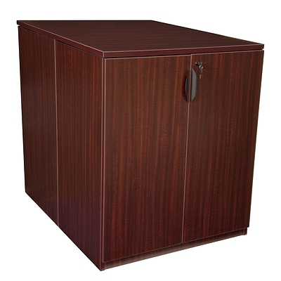Regency Legacy Stand Up Back to Back Storage Cabinet/ Lateral File- Mahogany