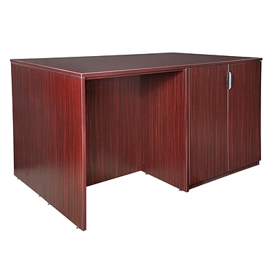 Regency Legacy Stand Up 2 Desk/ Storage Cabinet/ Lateral File Quad- Mahogany