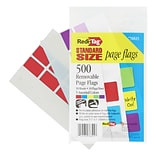 Redi-Tag Page Markers, Assorted Colors, 1 Wide, 500/Pack (76825)