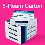 Hammermill Copy Plus 8.5 x 11 Copy Paper, 20 lbs., 92 Brightness, 500/Ream, 5 Reams/Carton (105650