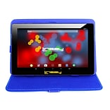 LINSAY F10 Series 10.1 Tablet, WiFi, 2GB RAM, 32GB,  Android 10, Black w/Blue Case (F10XIPSBCBLUE)