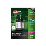 Avery UltraDuty Laser Specialty Labels, 2 x 2, White, 12 Labels/Sheet, 50 Sheets/Pack (60506)