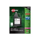Avery UltraDuty Laser Specialty Labels, 4 x 4, White, 4 Labels/Sheet, 50 Sheets/Pack (60504)