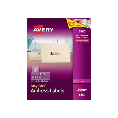 avery clear address labels 300 pack.html