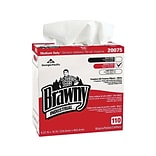 Brawny Professional D300 DRC Wipers, White, 110 sheets/Box, 10 Boxes/Carton (20075)