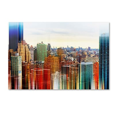 Trademark Fine Art Philippe Hugonnard Urban Stretch NYC V 12 x 19 Canvas Stretched (190836045297)
