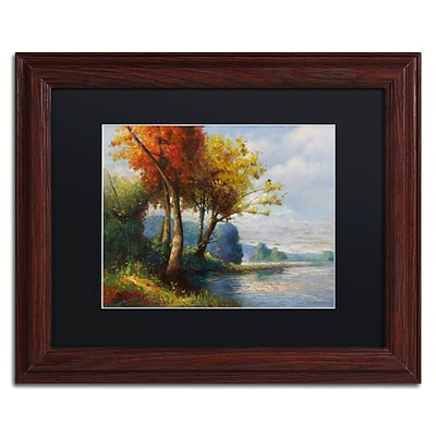 Trademark Fine Art Daniel Moises Corot Tribute 11 x 14 Matted Framed (190836236244)