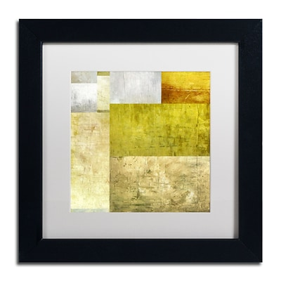 Trademark Fine Art Michelle Calkins Neutral Study 1.0 11 x 11 Matted Framed (190836074358)