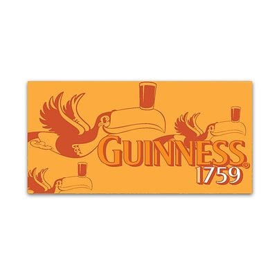 Trademark Fine Art Guinness Brewery Guinness 1759 10 x 19 Wall Art (190836244874)