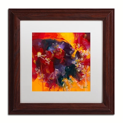 Trademark Fine Art Andrea Hot Nights 11 x 11 Matted Framed (190836010769)