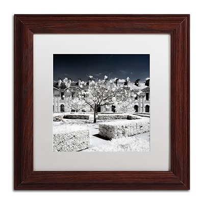 Trademark Fine Art Philippe Hugonnard Another Look at Paris XX 11 x 11 Matted Framed (190836044511)