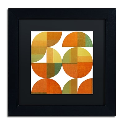 Trademark Fine Art Michelle Calkins Four Suns Quartered 2.0 11 x 11 Matted Framed (190836073061)