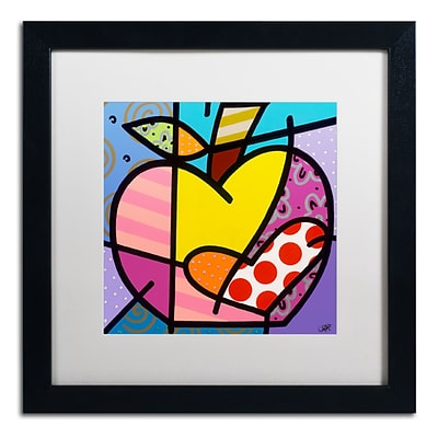 Trademark Fine Art Roberto Rafael Big Apple IV 16 x 16 Matted Framed (190836279395)