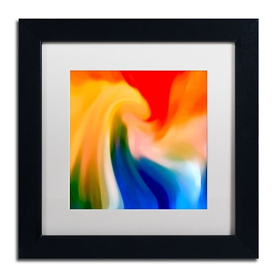 Trademark Fine Art Amy Vangsgard Storm At Sea Square 1 11 x 11 Matted Framed (886511938106)