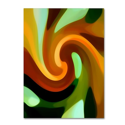 Trademark Fine Art Amy Vangsgard Wind In Tree Vertical 1 14 x 19 Canvas Stretched (886511938854)