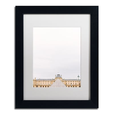 Trademark Fine Art Ariane Moshayedi The Louvre 2 11 x 14 Matted Framed (190836275182)